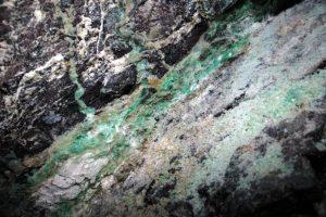 8 Fragment ściany chryzopraz